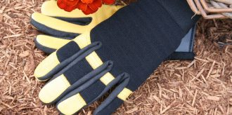 Gold Leaf Gloves