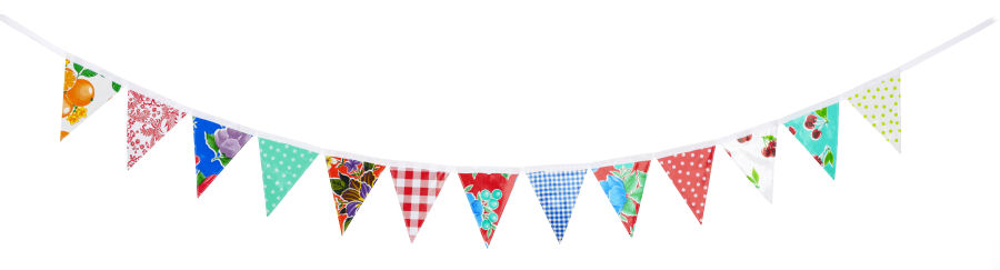 bunting ready to hang me too please