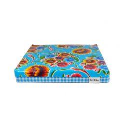 Blue Sweet Flower Cushion single-sml