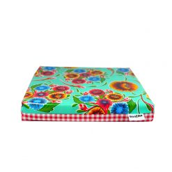Mint Sweet Flower Cushion Single-sml