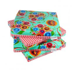 Mint Sweet Flower Cushion set-sml