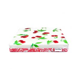 White Cherry Cushion Single-sml
