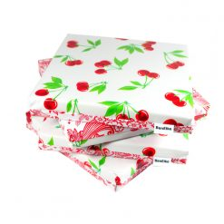 White Cherry Cushion set-sml