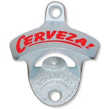 Cerveza Wall Mounted Bottle Opener Me Too Please