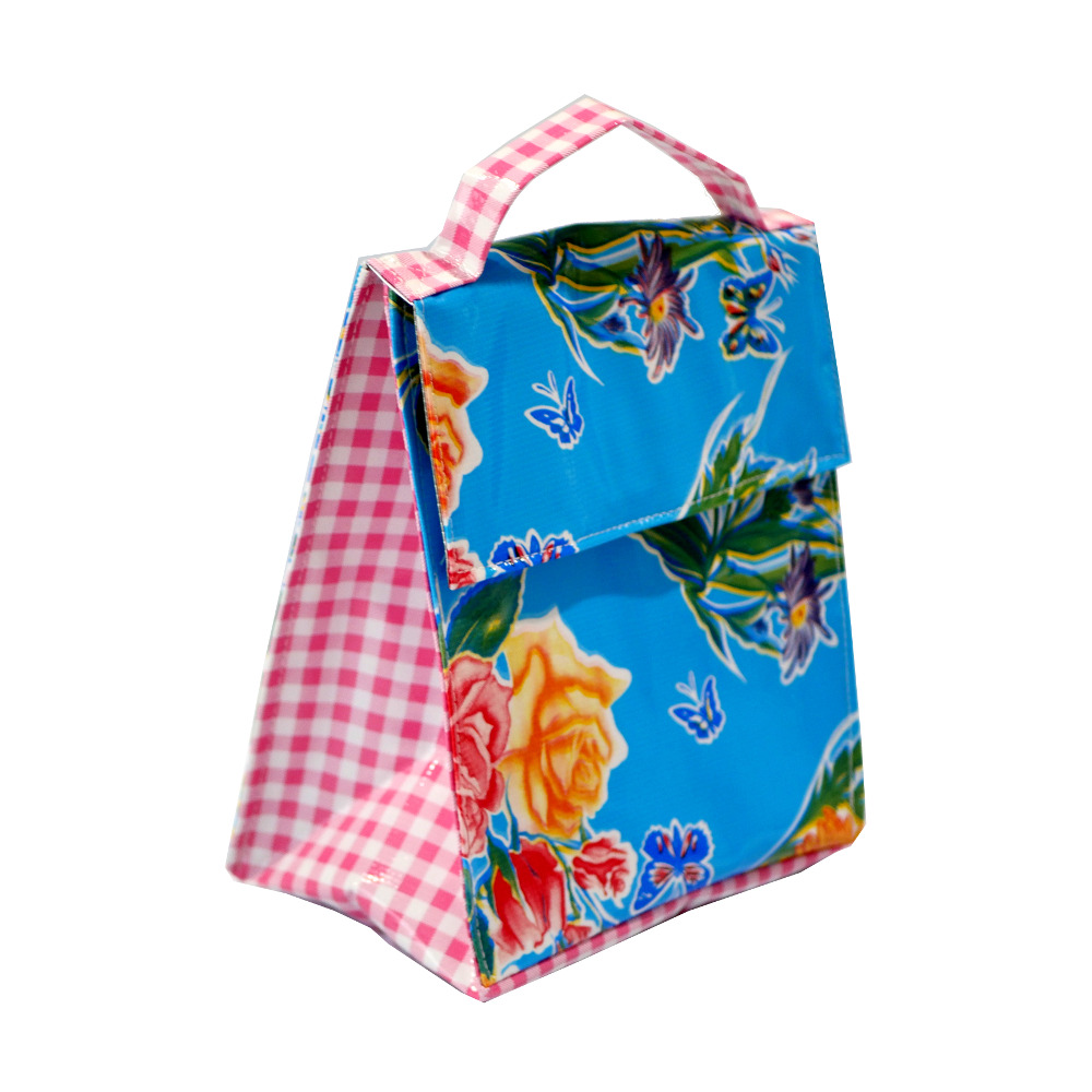 Insulated Lunch Bag Butterfly Blue Me Too Please